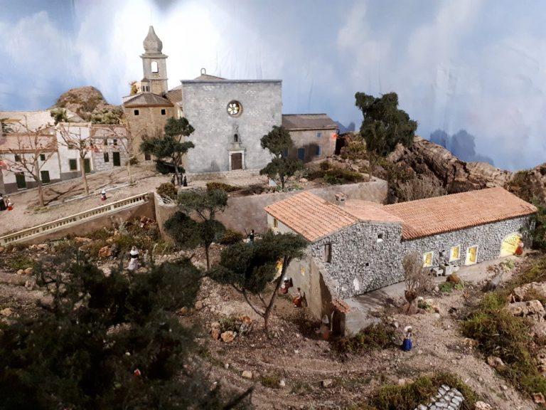 El betlem d'en Nadal Ferriol al Consell de Mallorca